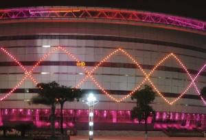LED, buitenverlichting, gebouw2