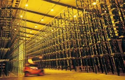 LED besparing indoor magazijn